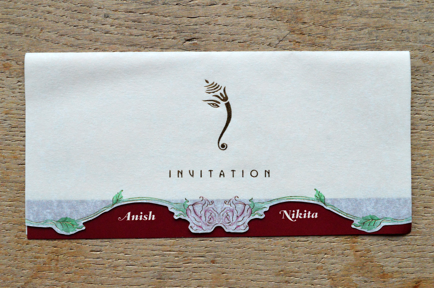 Jp266 Hindu Wedding Card Hindu Wedding Cards Printers Uk